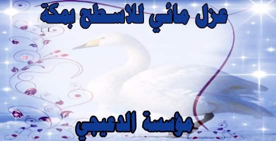 عزل مائي للاسطح بمكة Water insulation for surfaces in Mecca